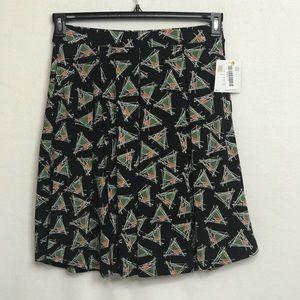 """LuLaRoe NWT Skirt """"Madison"""" Black Medium"""
